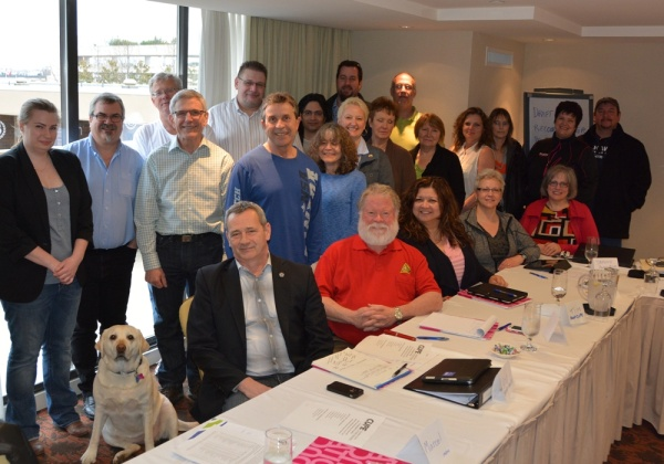 CUPE K–12 Provincial Bargaining Committee met to develop proposals for 2014 bargaining.