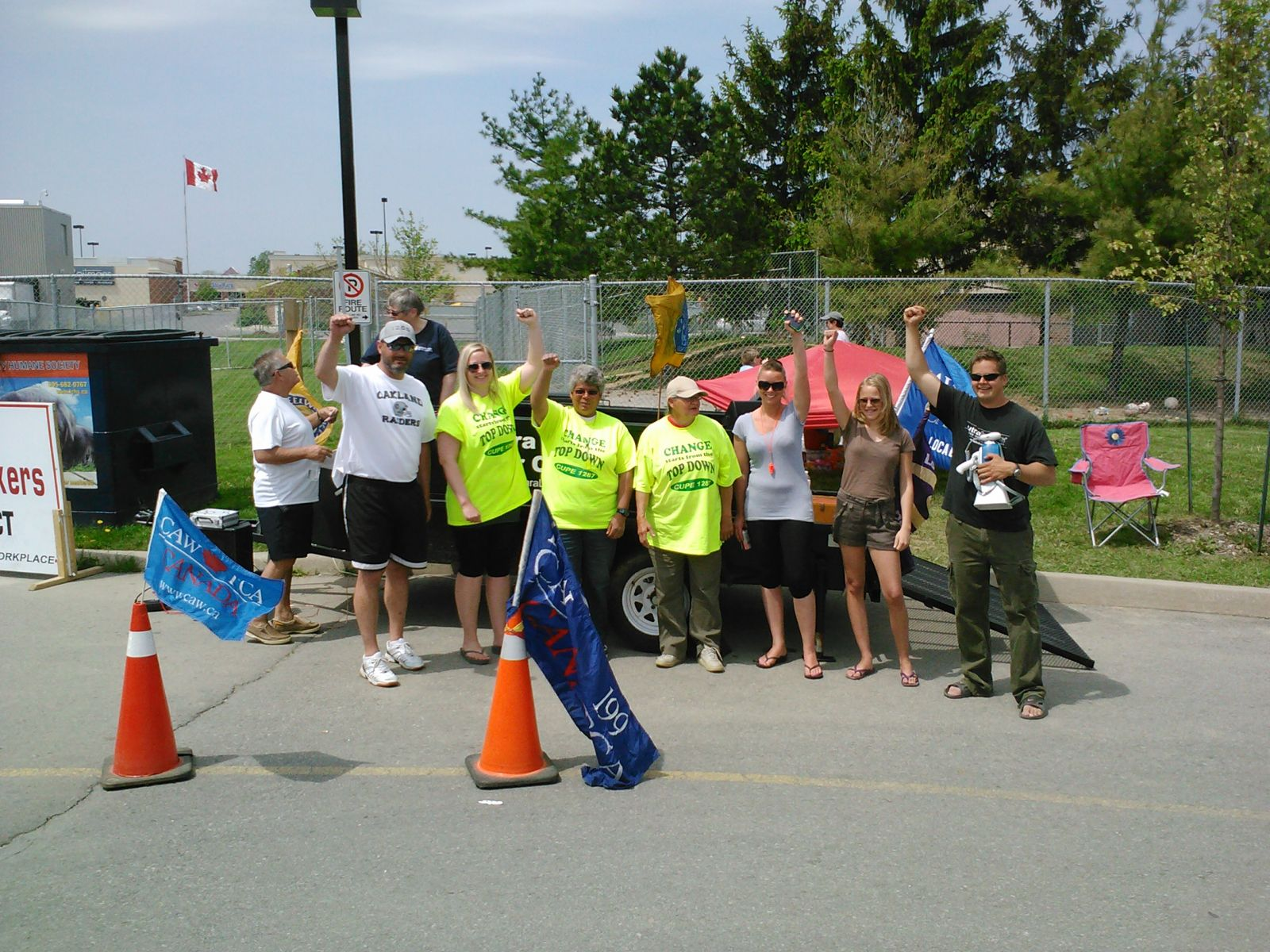 LCHS Solidarity BBQ for CUPE 1287